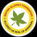 Zertifizierung der British Allergy Foundaition